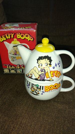 Betty Boop tea 4 one- new in box for Sale in Santa Ana, CA