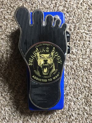 Snarling Dogs Blues Bawls Blue Doo Distortion Wah Pedal. Efect guitar for Sale in Bell, CA
