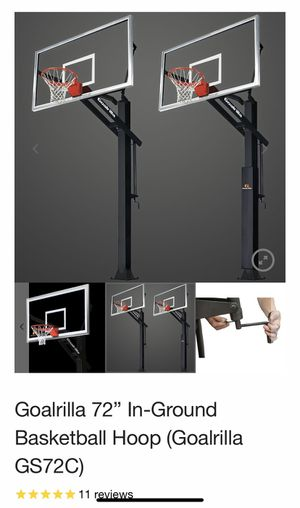 Basketball hoop Goalrilla for Sale in Woodbridge, VA