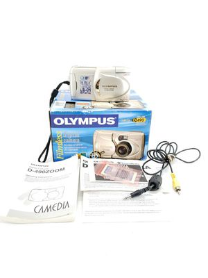 Olympus Camedia D-490 Zoom 2.1MP Digital Filmless Camera Silver w/ 3x Optical Zoom for Sale in Citrus Springs, FL
