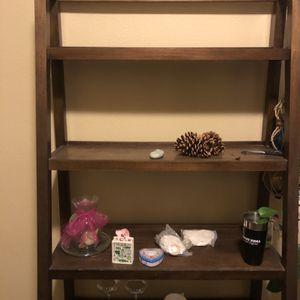Real Wood ladder shelf for Sale in Sloan, NV