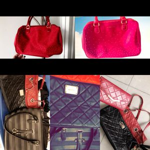 Take the two purses with the matching wallet and the Victoria secret Purse ( new) for Sale in Miami, FL