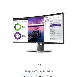 Dell Monitor for Sale in San Bernardino, CA