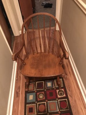 Wood rocking chair for Sale in Mount Juliet, TN