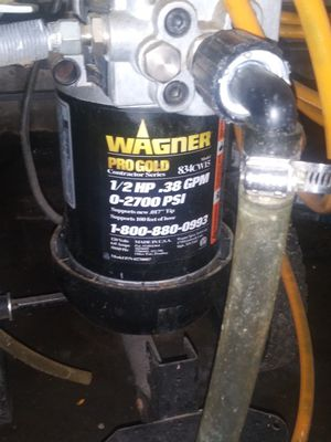 Wagner paint sprayer for Sale in St. Petersburg, FL