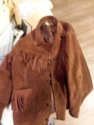 Vintage Suede Fringe Jacket for Sale in San Francisco, CA