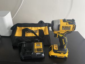 NEW DEWALT BRUSHLESS KIT IMPACT DRILL BATTERY AND CHARGER for Sale in Franklin Park, IL