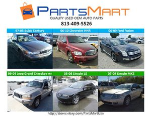 Buick Century, Chevrolet HHR, Ford Fusion, Jeep Lincoln USED OEM PARTS for Sale in Tampa, FL