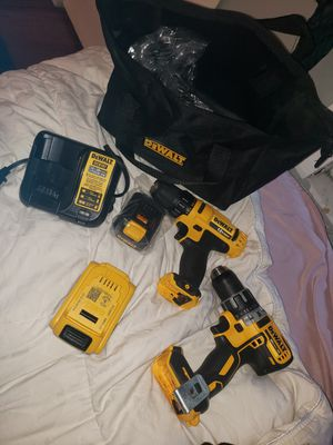 Dewalt 3/8 Cordless Drill Driver w/ 12v Battery + Charger w/Travel Bag.1/2XR Cordless Drill Driver for Sale in New Port Richey, FL