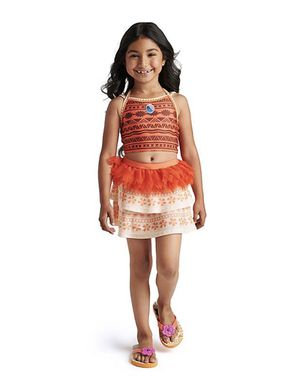 Moana Deluxe Swimsuit Set for Girls for Sale in Queens, NY