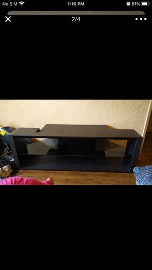 "FREE Mitsubishi 65"" TV stand entertainment center/shelf for Sale in Fresno, CA"