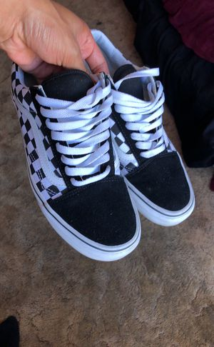 Size 9 Vans Checkerboard Pattern For In South San Francisco Ca