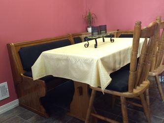 Dining Set - Corner Nook for Sale in Houston,  PA