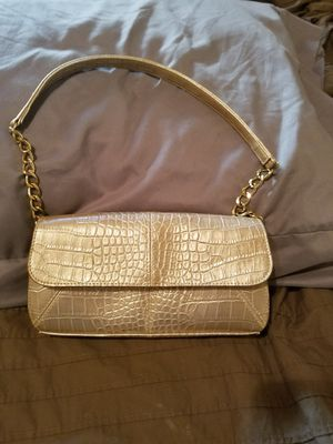 Liz Claiborne gold purse for Sale in Fresno, CA