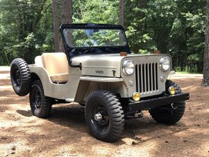 Willy's Jeep CJ3B for Sale in Dacula, GA