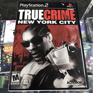 True Crime NY Ps2 $25 Gamehogs 11am-7pm for Sale in Bell Gardens, CA