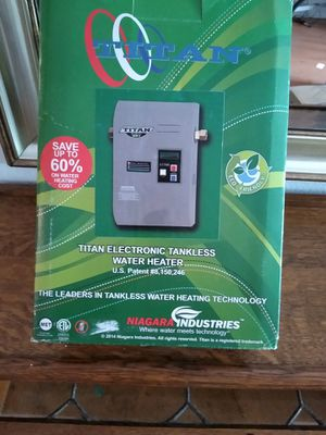 Titan tankless hot water heater electric for Sale in North Miami Beach, FL