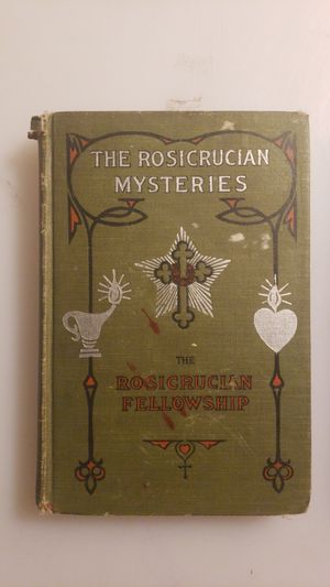 2 Rosicrucian Books Mysteries and Scientific Astrology circa 1914 & 1926 for Sale in Seattle, WA