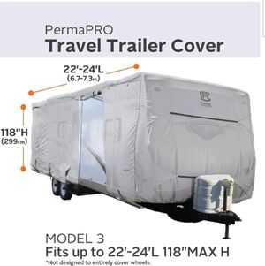 * New* Heavy Duty Cover for 22' to 24' Travel Trailers for Sale in Las Vegas, NV
