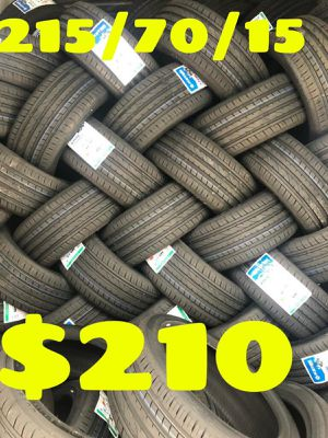 215 70 15¡¡¡¡ ALL 4 NEW SET OF TIRES !!!! for Sale in Phoenix, AZ