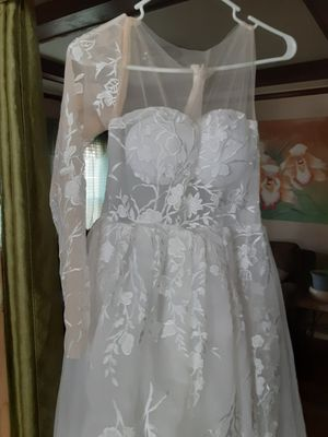 Wedding dress jumper suit for Sale in New Britain, CT
