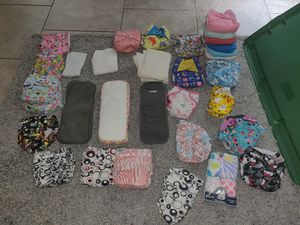 Cloth diapers with inserts for Sale in Zephyrhills, FL