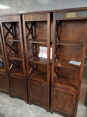 Bookshelves, $99 each for Sale in San Bernardino, CA