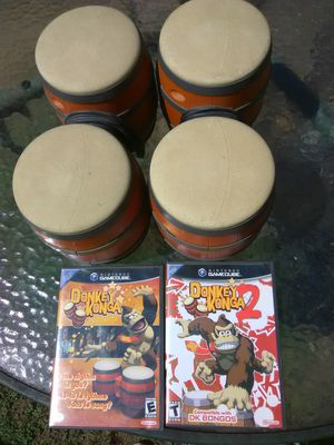 Donkey Konga Bundle with games for Sale in Washington, DC