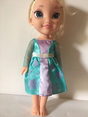 My First Disney Princess Frozen Elsa Tollytots Toddler Doll Baby Girl for Sale in Longwood, FL