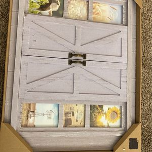 Barn Door Style Picture Frame for Sale in Los Angeles, CA