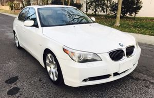 2007 BMW 530i BLACK LEATHER •Clean Title • Navigation • Drives Excellent for Sale in Rockville, MD