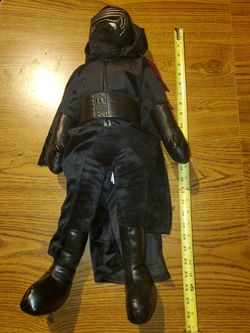 Kylo Ren 26 in New plush doll for Sale in Hoxeyville,  MI