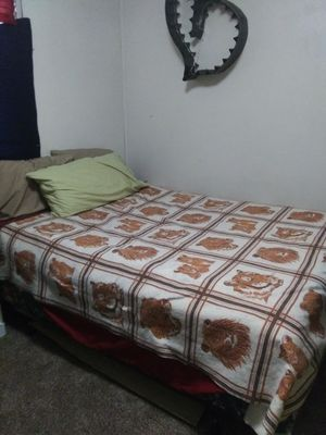 Queen Mattress, Boxspring and Frame for Sale in Forest City, IA