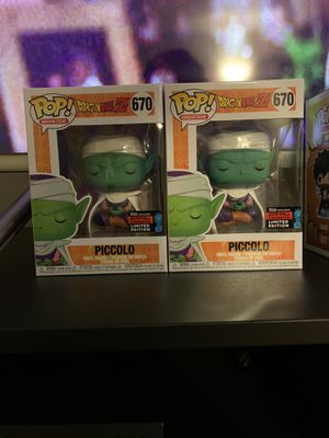 Piccolo fall convention funko pop for Sale in The Bronx, NY
