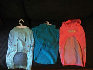 Dog coats sm&lg for Sale in Cleveland, OH