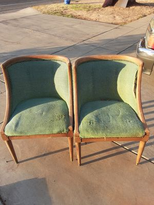 Pair of antique chairs for Sale in Fresno, CA