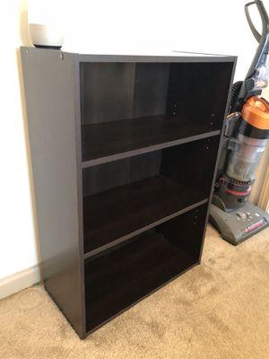 Small dark brown book shelf for Sale in Winter Park, FL