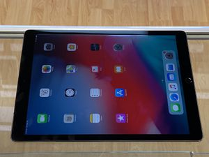 Unlocked iPad PRO 12.9 with 128GB. Works with any company. AT&T, T-Mobile, Verizon, Sprint, and overseas. Charger and cable included. Excellent for Sale in San Francisco, CA