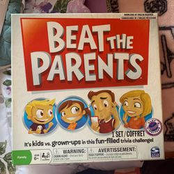 Beat The Parents Board Game for Sale in Cypress,  CA