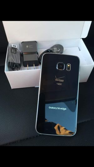 Samsung galaxy s6 edge- just like new with accessories + clean IMEI for Sale in West Springfield, VA