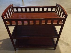 Changing table and 4 drawer dresser for Sale in Charter Township of Clinton, MI