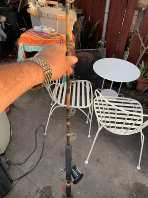 Custom made fishing pole for yellow tail. for Sale in Los Angeles, CA