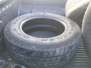 Goodyear Wrangler tires set of four for Sale in San Angelo, TX