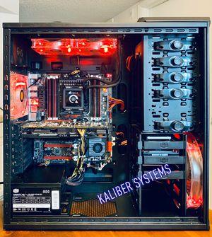Custom Gaming Computer with Intel i7 3820, 970 GTX, 128GB SSD/1TB HDD for Sale in Lake Worth, FL