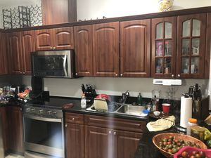 Wooden Kitchen Cabinets for sale for Sale in Miami, FL