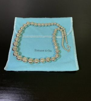 "Rare Tiffany & Co. Sterling Silver Bead Ball 18"" Necklace for Sale in Brooklyn, NY"