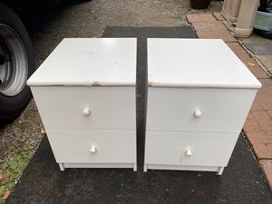 White small dressers free for Sale in University Place, WA