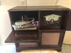 Vintage Zenith Radio Phongraph for Sale in Wichita, KS