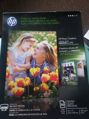 Hp photo paper for Sale in New Britain, CT
