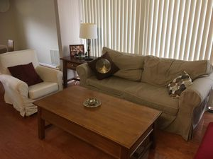 Coffee table + sofa side table for Sale in Falls Church, VA